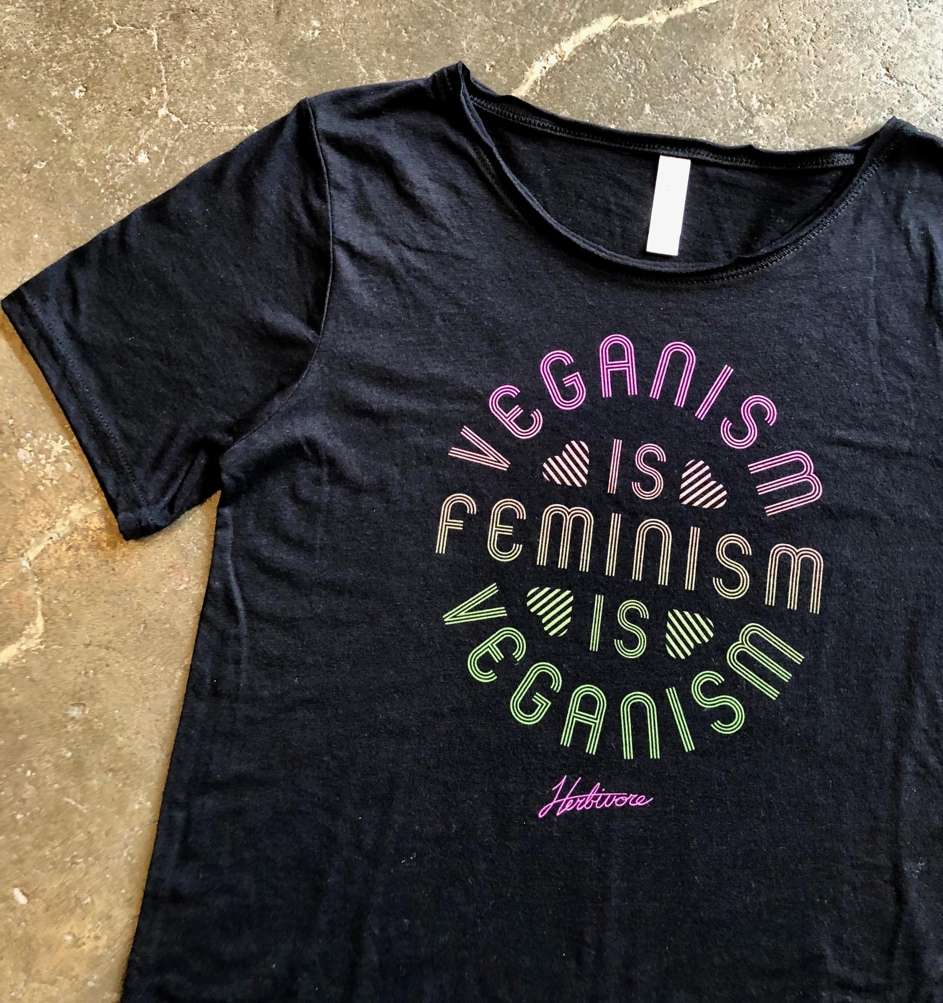 Veganism Is Feminism Unisex Tee