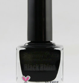 Black Rhino Nail Polish by Dimension Nails