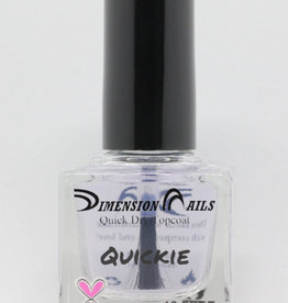 Quickie Top Coat Nail Polish by Dimension Nails