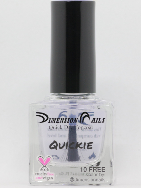 Quickie Top Coat Nail Polish by Dimension Nails - Herbivore Clothing ...