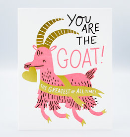 You Are The Goat! Card