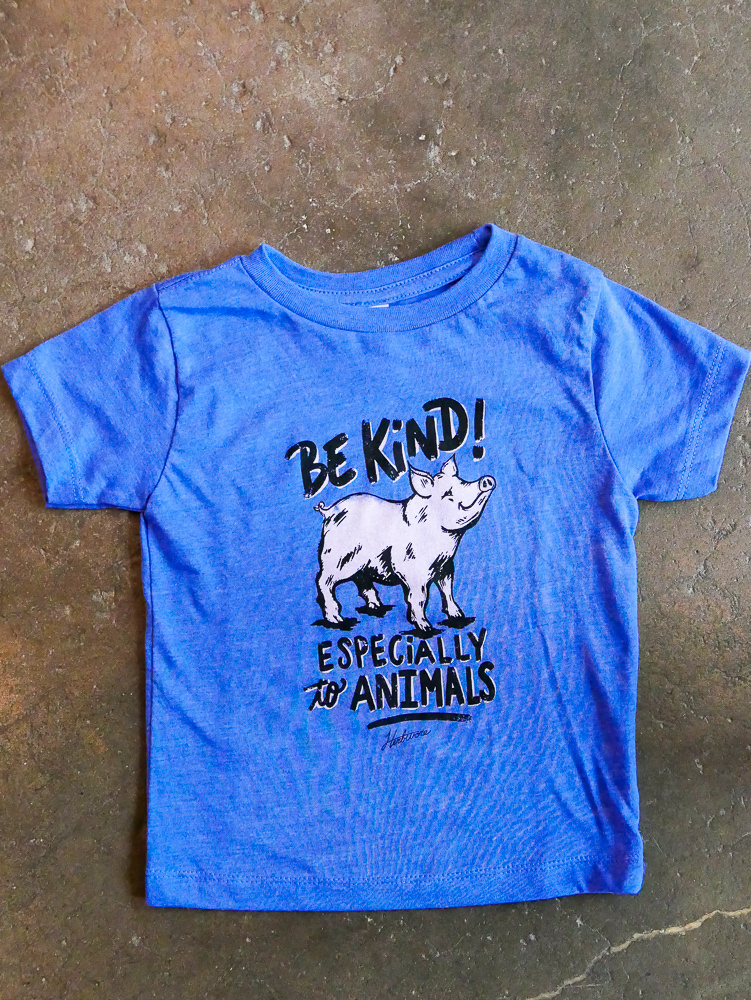 Be Kind Pig Kids Tee