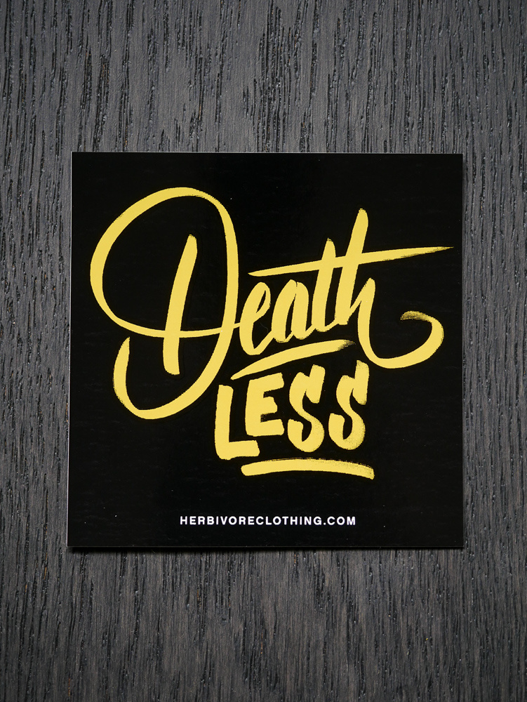 Deathless Yellow Sticker
