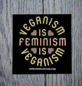 Veganism Is Feminism Sticker