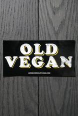 Old Vegan Sticker