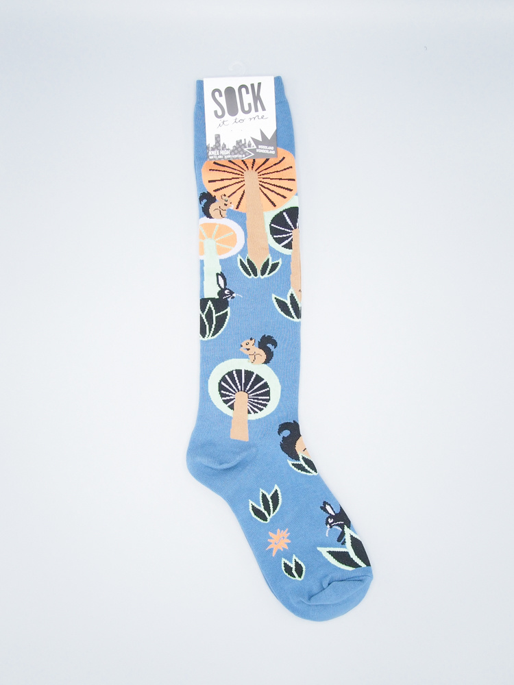 Woodland Wonderland Knee Sock from Sock It To Me
