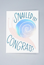 Snailed It! Congrats! Card