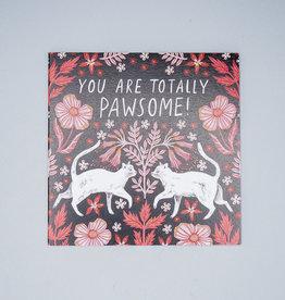 Pawsome Cat Card