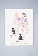 Cat's Pajamas Card