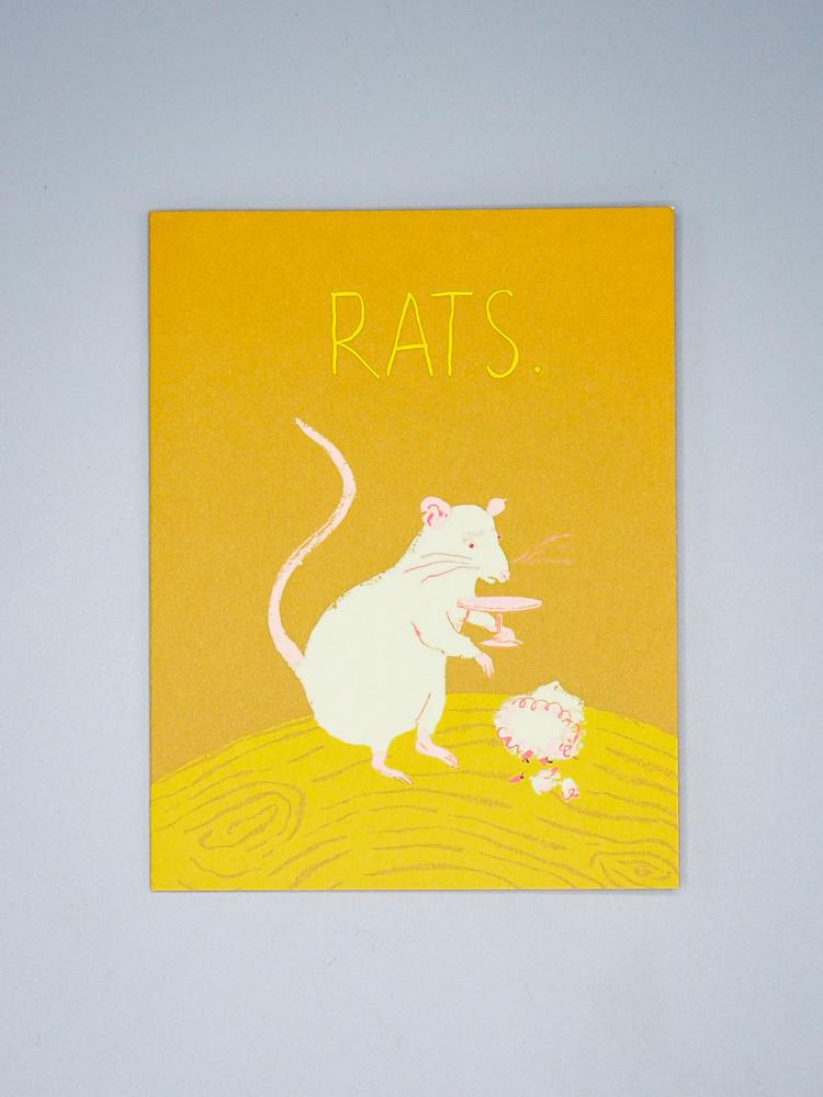 Rats Rat Card