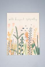 Underwater Deepest Sympathy Card