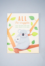 All The Snuggles Koala Card