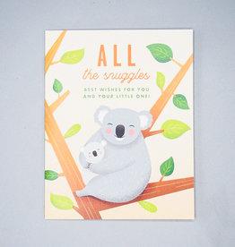 All The Snuggles Koala Card