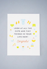 Cute and Tiny Things Card