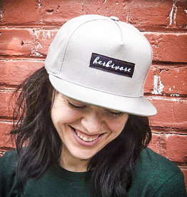 Herbivore Scripty Flat Bill Snapback Hat