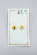 Plant Posse Peach Post Earrings