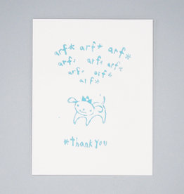 Arf Arf Thank You Card