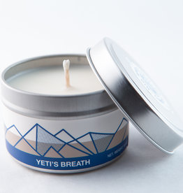 Big White Yeti Candle Yeti's Breath