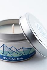 Big White Yeti Candle Mountain Man