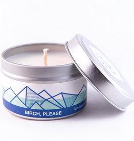 Big White Yeti Candle Birch Please