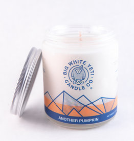 Big White Yeti 8oz Jar Candle Another Pumpkin