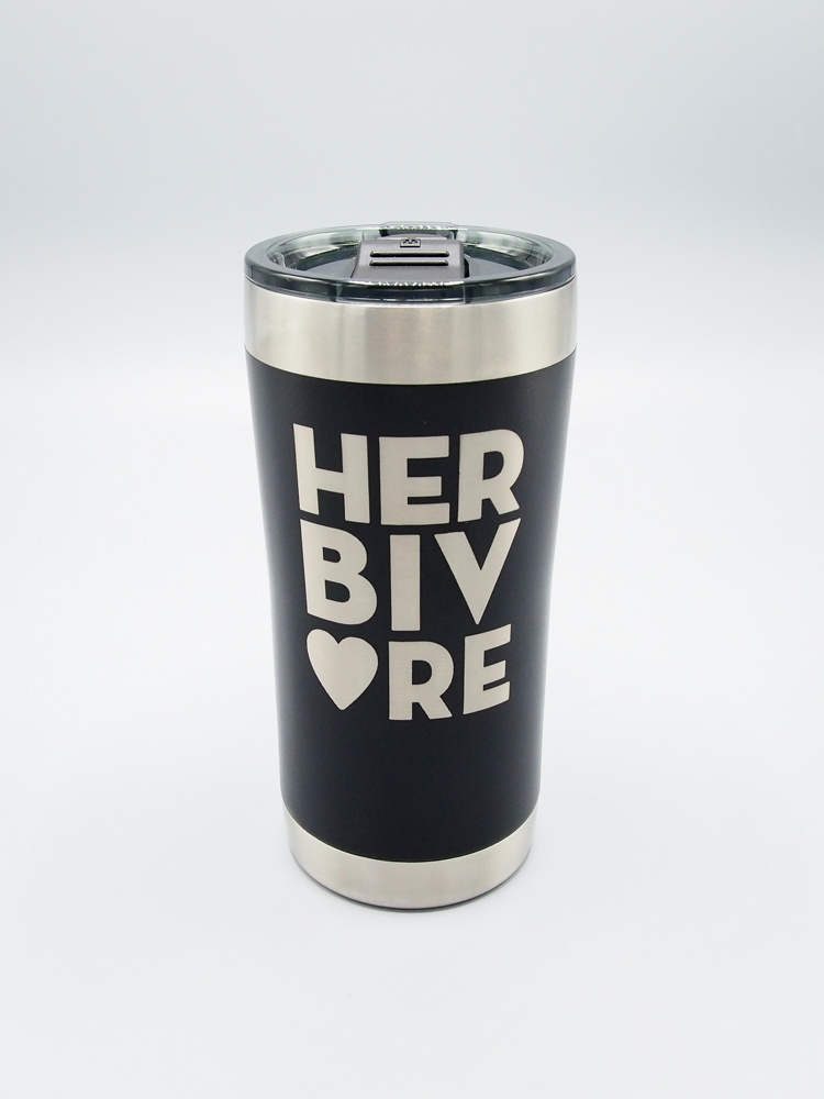 HERBIVORE Insulated Tumbler Black