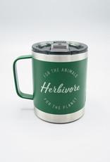 Herbivore Logo Insulated Camp Mug Green