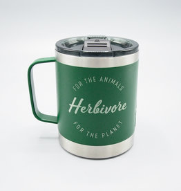 Herbivore Logo Insulated Camp Mug Green