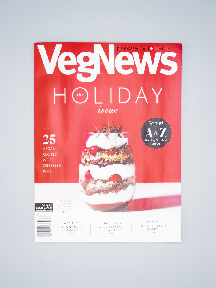 VegNews Magazine - The Holiday Issue (Fall 2019)