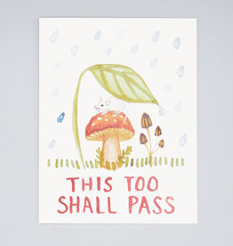 This Too Shall Pass Mouse Card