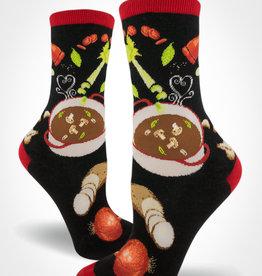 Soup's On Women's Crew Sock from Mod Socks
