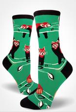 Red Panda Women's Crew Sock from Mod Socks