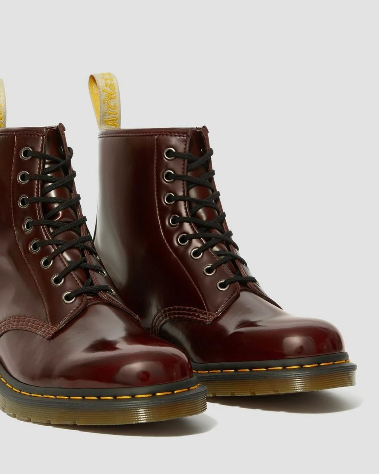 dr martens black vegan 1460 8 eye boots