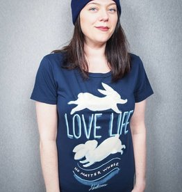 Love Life (No Matter Whose) Cotton Women's Tee:::XL Only:::