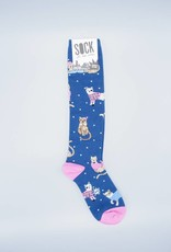 Business Cat-sual Knee Sock from Sock it to Me