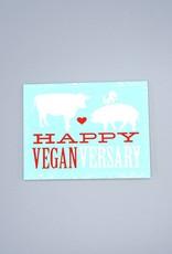 Happy Veganversary Card
