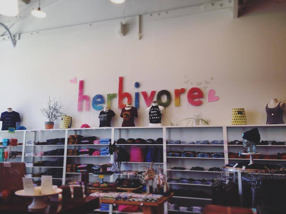 Big Hello from the Herbivore Clothing Store!