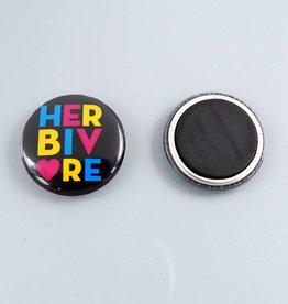 "Herbivore Circle 1"" Magnet"