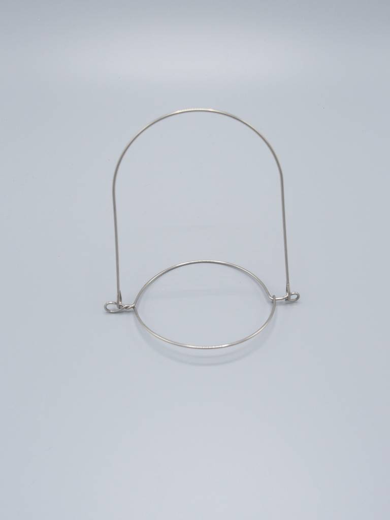 Wire Hanger for Wide Mouth Mason Jar