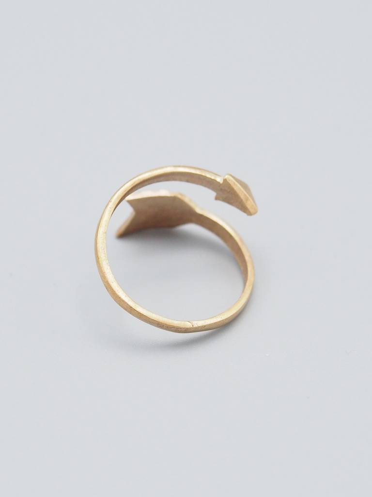 Arrow Brass Ring