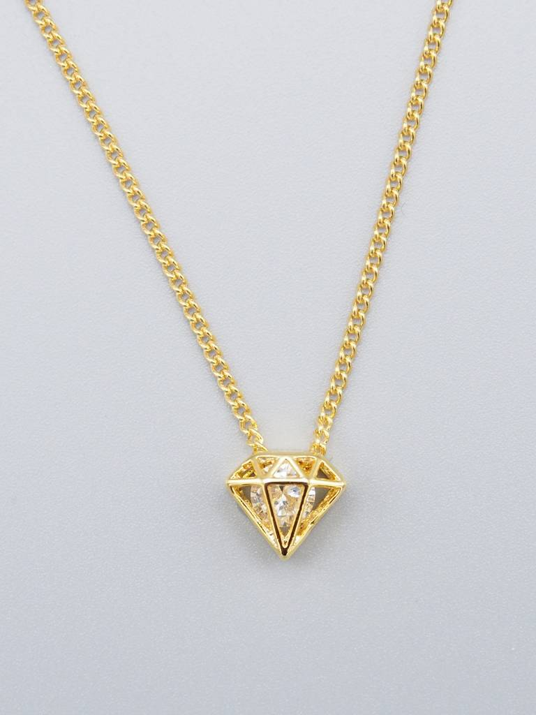 Diamond Necklace by Mishakaudi