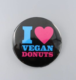 "I Heart Vegan Donuts 3"" Magnet"