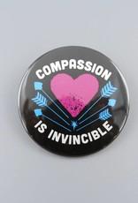 "Compassion Is Invincible Arrow 3"" Magnet"