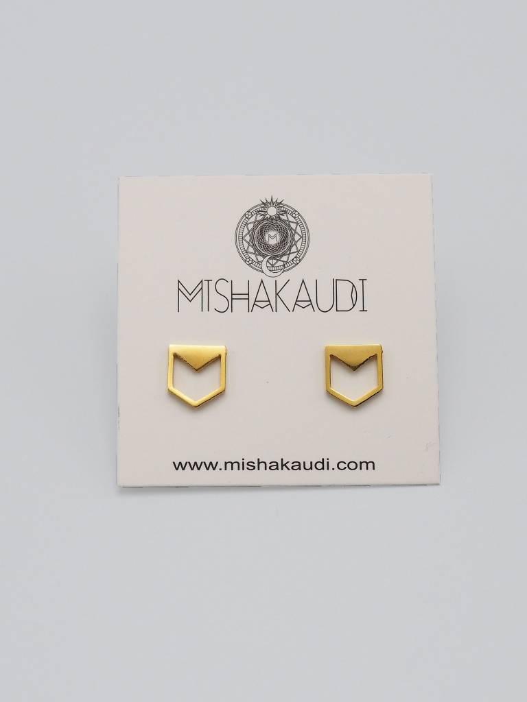 Cadet Post Earring by Mishakaudi