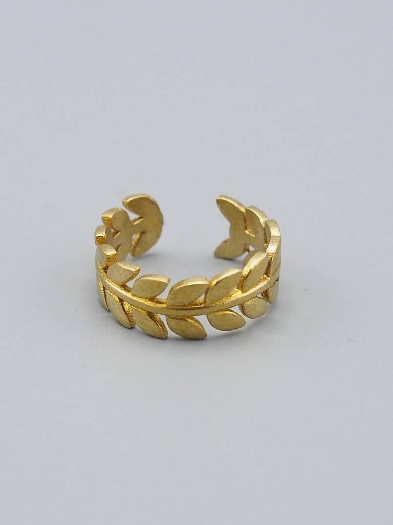 Wreath Brass Ring