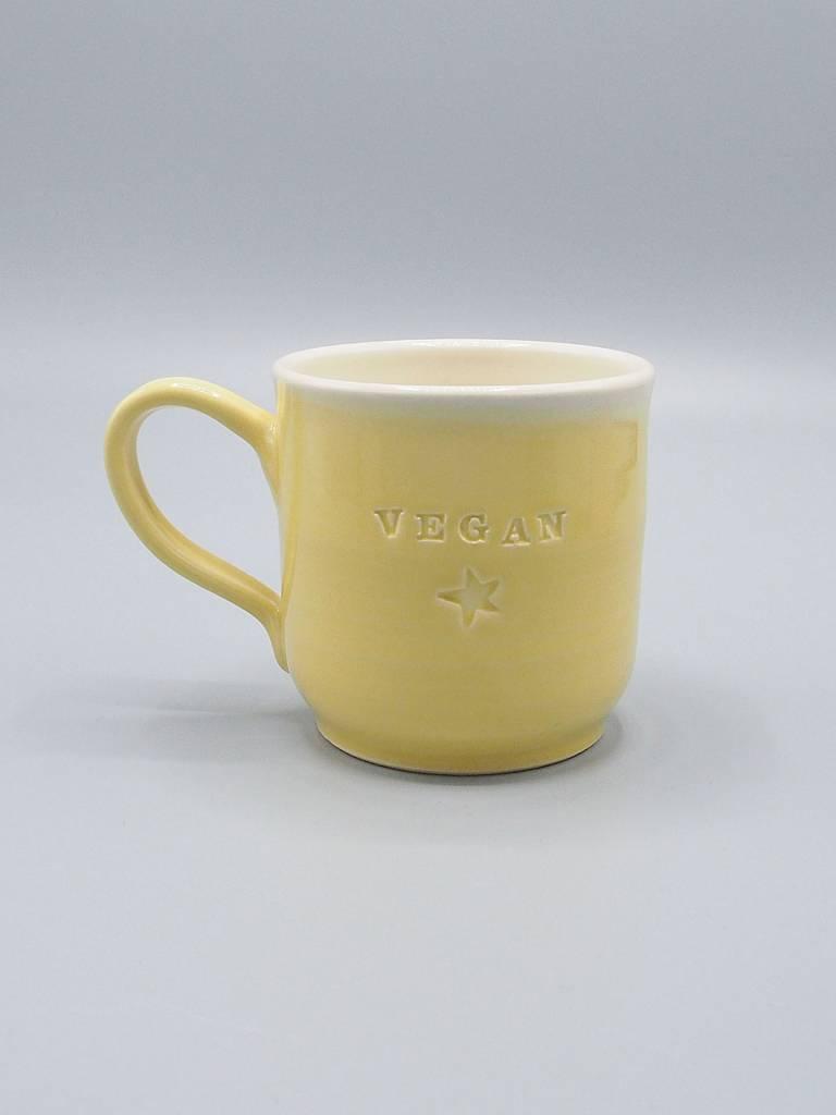Vegan Dish Mug by Jeanette Zeis