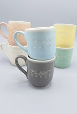 Plant Eater Bold Font Mug by Jeanette Zeis