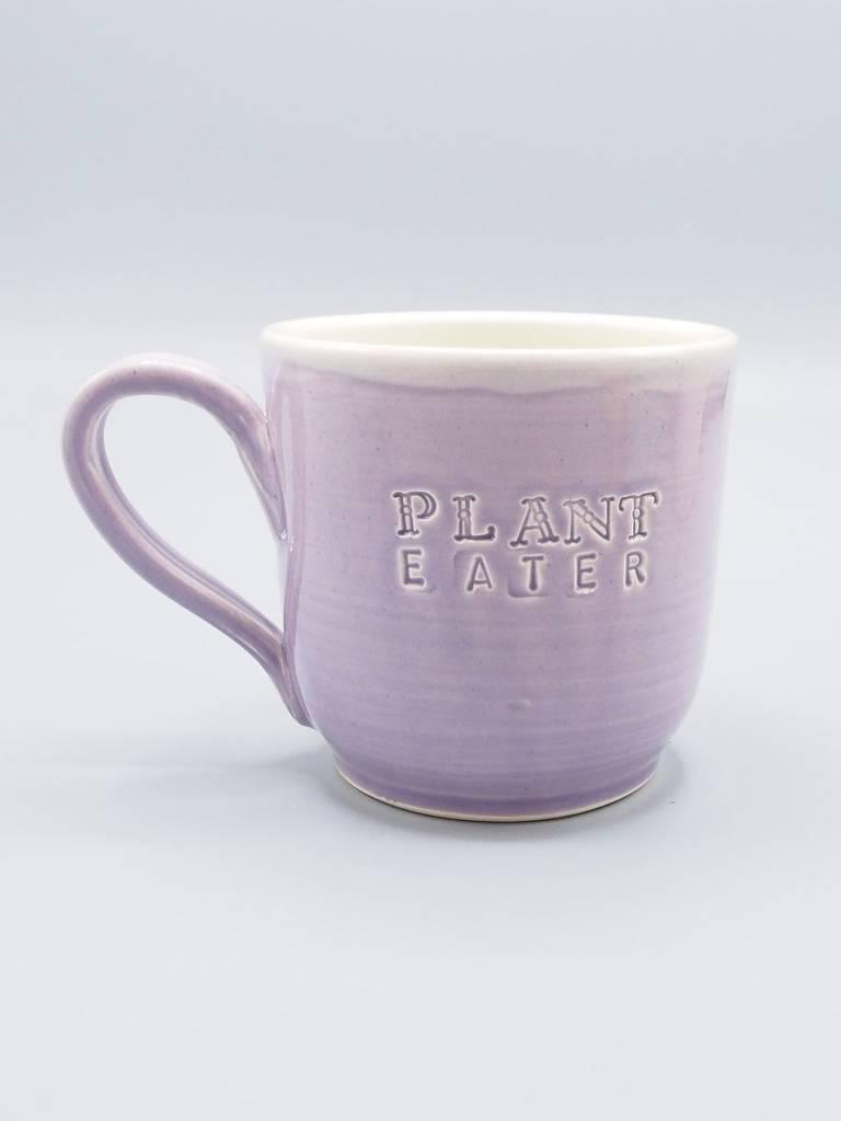 Plant Eater Soft Font Mug by Jeanette Zeis