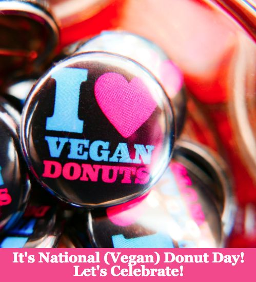 It's National (Vegan) Donut Day!