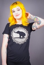Good Luck Elephant Black Women's Tee